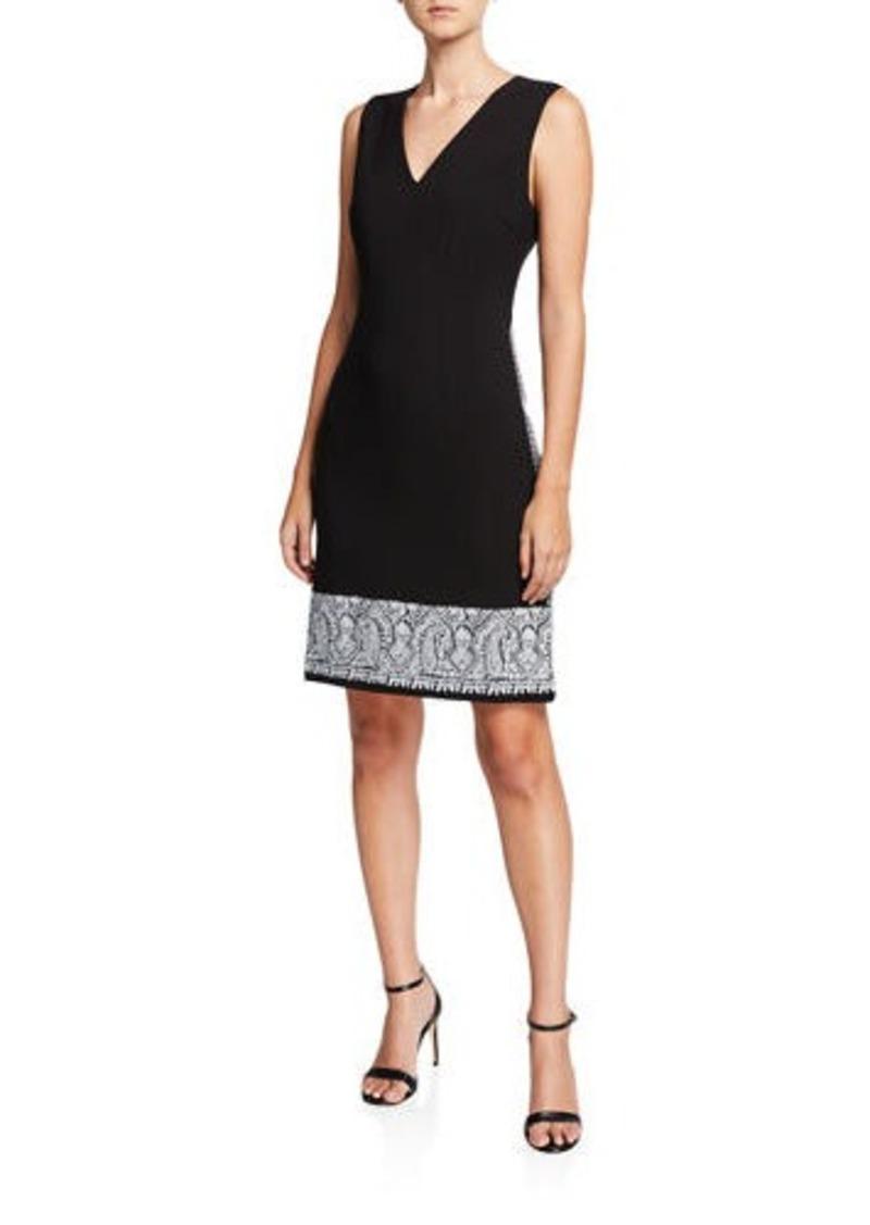 Kobi Halperin Tarah Sleeveless Sheath Dress