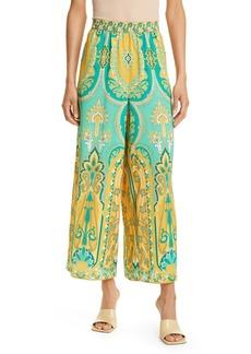 Women's Kobi Halperin Sunny Paisley Wide Leg Pants