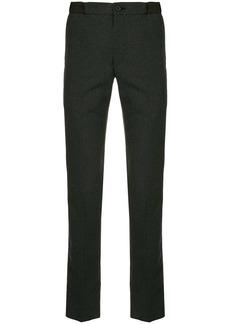 Kolor checkered elasticated-waist trousers