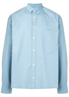 Kolor contrast-panel long sleeve shirt