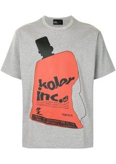Kolor logo print T-shirt