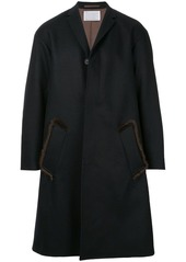 Kolor tailored fitted coat