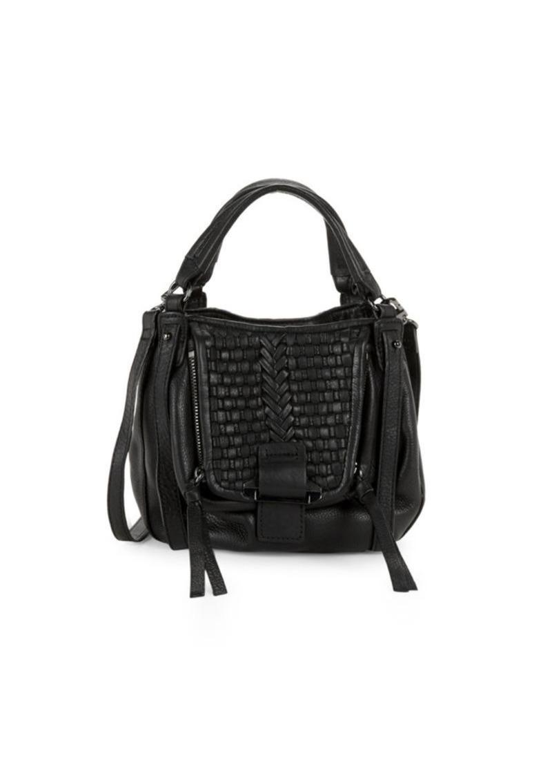 On Sale today! Kooba Basket Woven Leather Hobo Bag 7acd4e4cb9d18