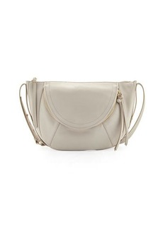 Kooba Clara Half-Moon Leather Shoulder Bag