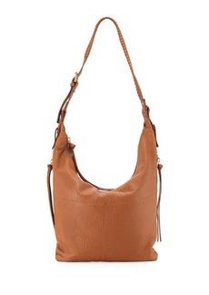 Kooba Joan Leather Crossbody Hobo Bag