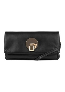 Kooba Opal Leather Convertible Clutch