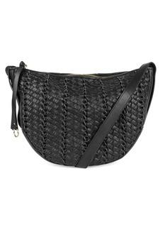 Kooba Sabin Leather Saddle Bag