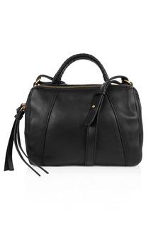 Kooba Turner Micro Leather Duffel Satchel