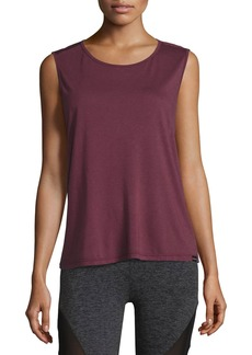 Koral Aura Strappy-Back Performance Tank  Wine