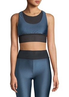 Koral Utopia Layered Mesh Sports Bra