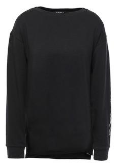 Koral Woman French Terry Sweatshirt Black