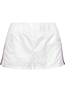 Koral Woman Sway Striped Shell Shorts White