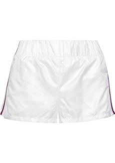 Koral Woman Sway Striped Shell Shorts White