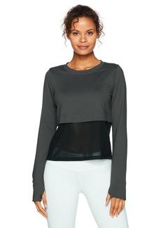 Koral Women's Grid Pullover Vintage Black S