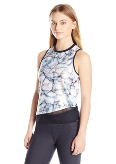 Koral Women's Petite Trainer Top TIME WARP S