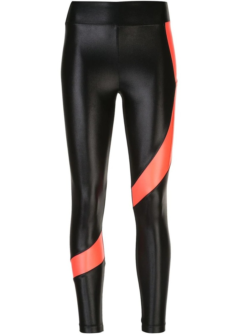 Koral Pista Infinity contrasting-stripe leggings