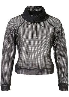 Koral Pump open mesh sweater