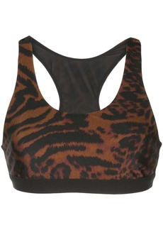 Koral Tax cheetah print sports bra