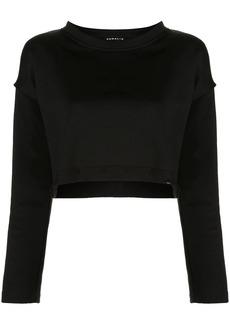 Koral Valor Valo cropped sweatshirt