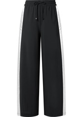 Koral Willow Lamé-trimmed Stretch Track Pants