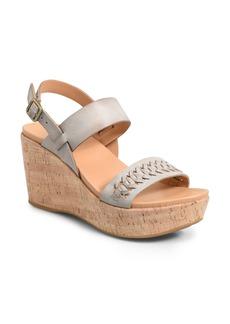 Kork-Ease® Austin Braid Wedge Sandal (Women)