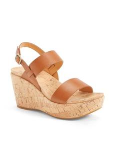 Kork-Ease® 'Austin' Slingback Wedge Sandal (Women)