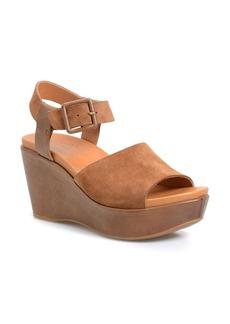 Kork-Ease® 'Keirn' Platform Wedge Sandal (Women)