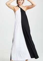 Kos Resort Halter Maxi Dress