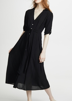 Kos Resort Shirt Cover Up Dress