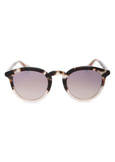 Krewe Unisex Collins Round Sunglasses, 48mm