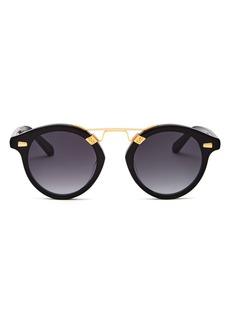 Krewe Unisex Round Sunglasses, 63mm