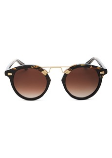 Krewe Unisex St. Louis II Round Sunglasses, 48mm