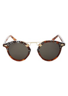 Krewe Unisex St. Louis Round Sunglasses, 46mm