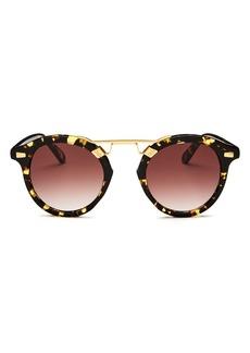 Krewe Women's STL II 24K Gradient Round Sunglasses, 48mm