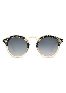 Krewe Women's 24K Round Sunglasses, 48mm