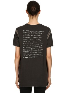 Ksubi Ambiguous Back To Black Jersey T-shirt