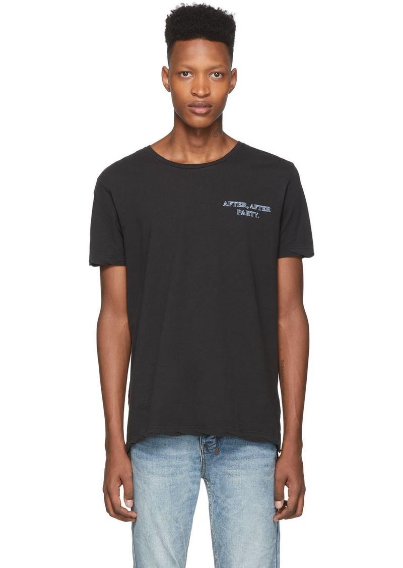 Ksubi Black 'Bring Back Life' T-Shirt