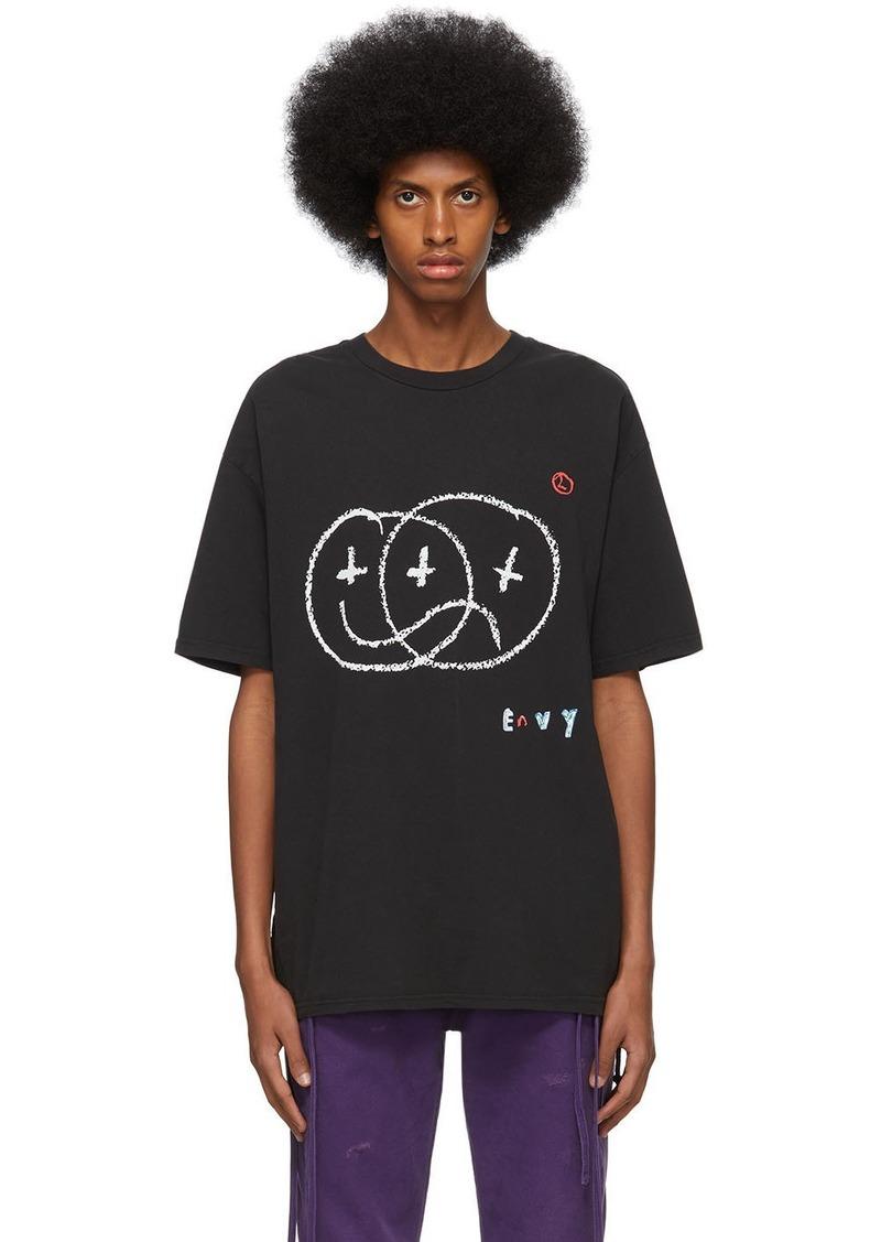 Ksubi Black Hidji World Edition Envy Biggie T-Shirt