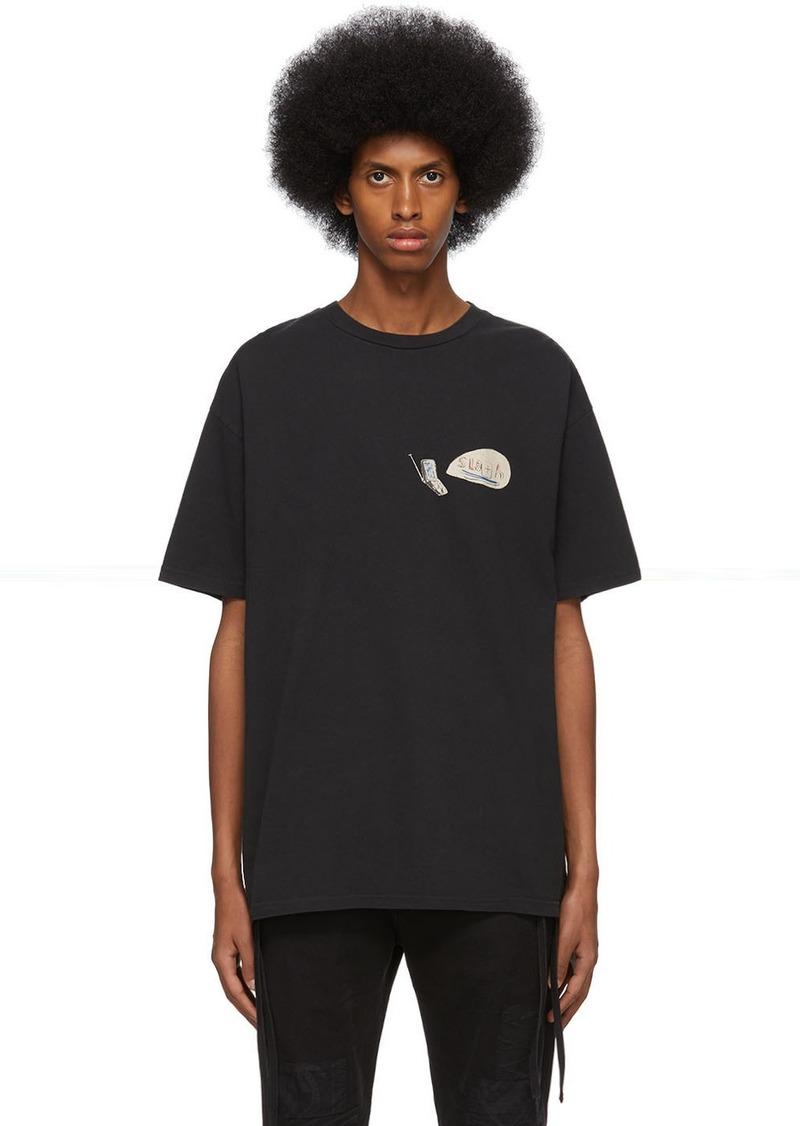Ksubi Black Hidji World Edition 'Sloth' Biggie T-Shirt