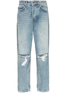 Ksubi Bullet Jinx Trashed straight-leg jeans