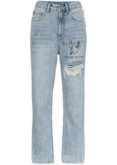 Ksubi chloe wasted high waist jeans