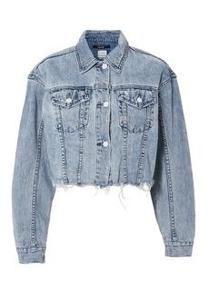 Ksubi Daggerz Crop Denim Jacket