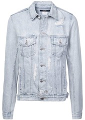 Ksubi distressed effect jacket