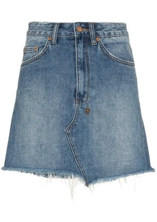 Ksubi Hi-Line mini denim skirt