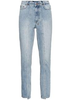 Ksubi high rise slim pin jeans