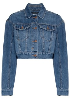 Ksubi Jett cropped denim jacket