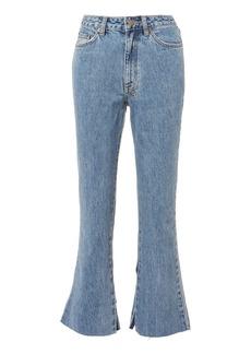 Ksubi Kickn Crop Flare Jeans