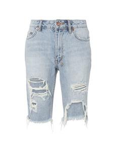 Ksubi App-Laye Long Distressed Shorts