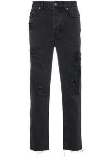 Ksubi Black Chitch Chop Rat Attack jeans