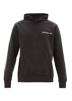 Ksubi Bring Back Life cotton hooded sweatshirt